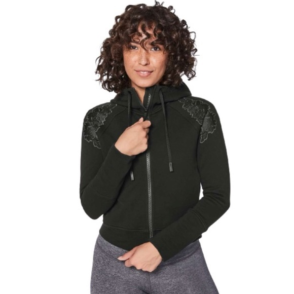 Lululemon Embroidered to You Hoodie in Black
